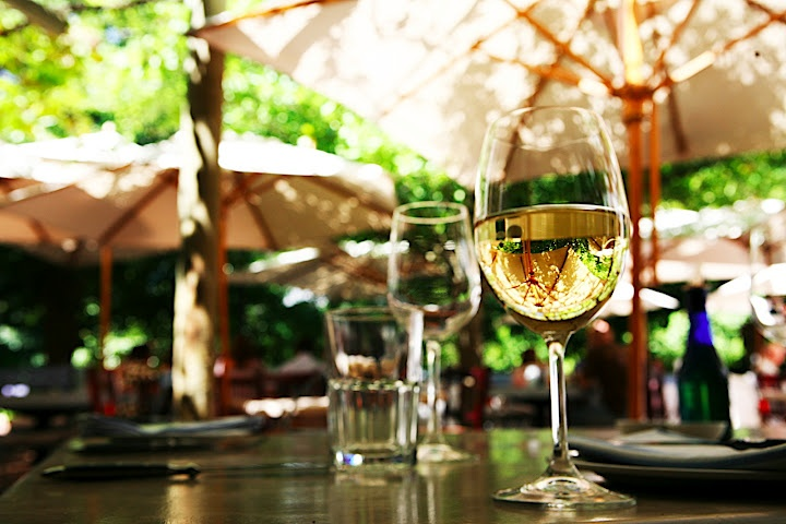 Dining at Moreson Wine Estate's restaurant Bread & Wine