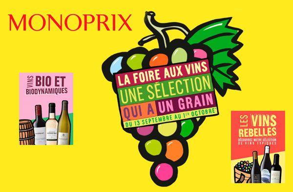 Foire aux Vins Monoprix 2017  #vin #gastronomie #foireauxvins