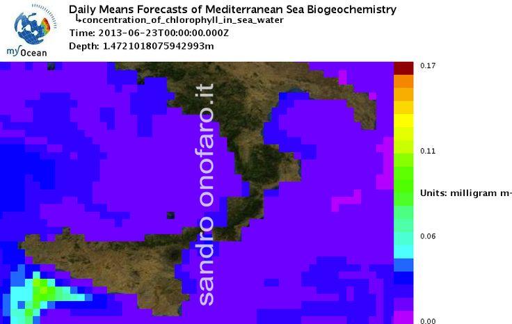 #meteo #forecast #fishing #pesca #mediterranean #mediterraneo #sea #mare 23/06/2013 #Sicilia #Sicily #Italy #Italia