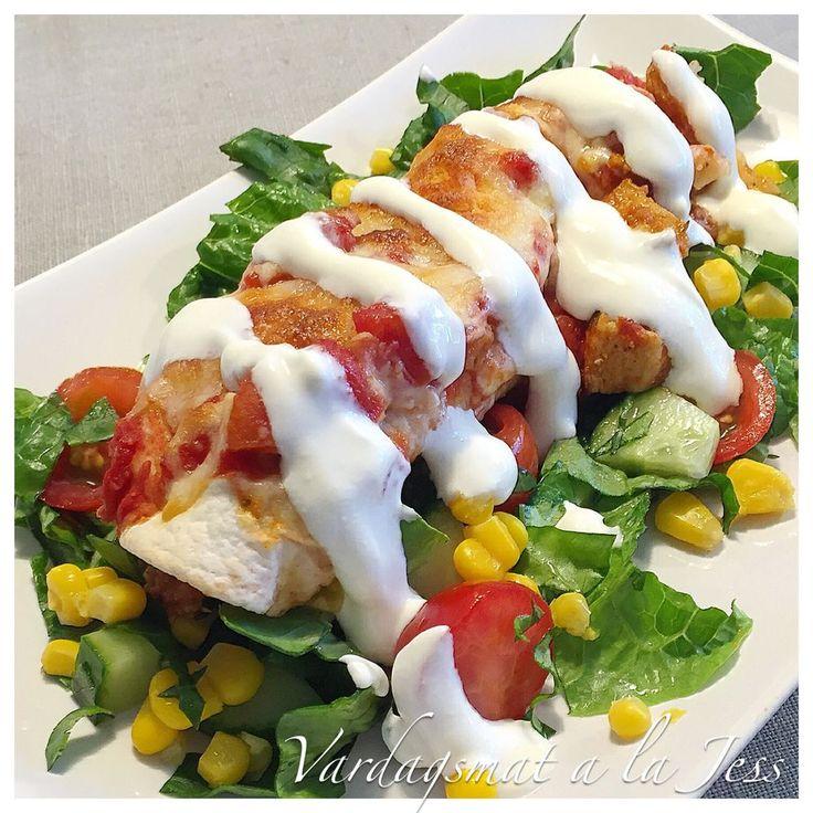 Vardagsmat a la Jess - Enchiladas med kyckling