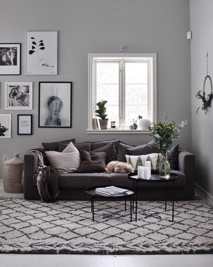 die besten 25 dunkles sofa ideen auf pinterest dunkelgraues sofa dunkle couch und grauer. Black Bedroom Furniture Sets. Home Design Ideas