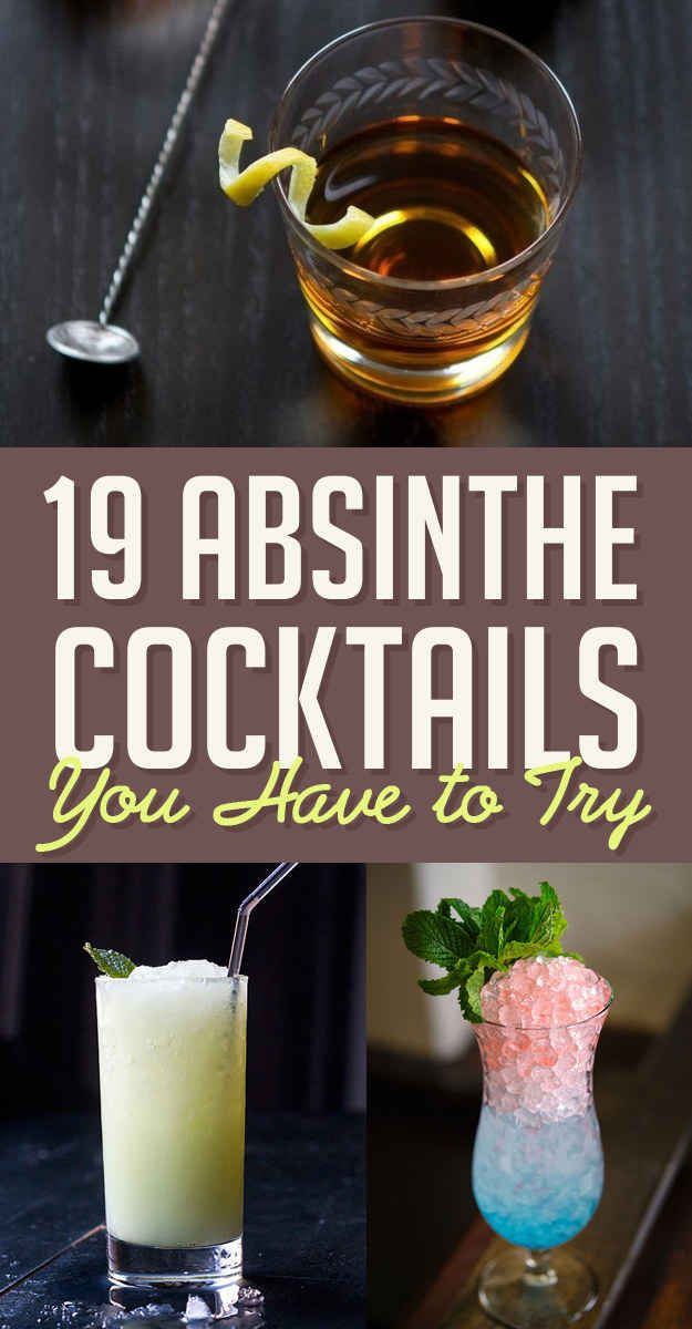 19 Absinthe Cocktails You Need To Try