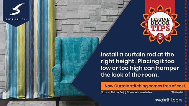 Curtains Are Essential In Remaking And Revamping Your Interiors This Festive Season Dress Your Interiors Up As Well Call Festival Season Festival Revamped
