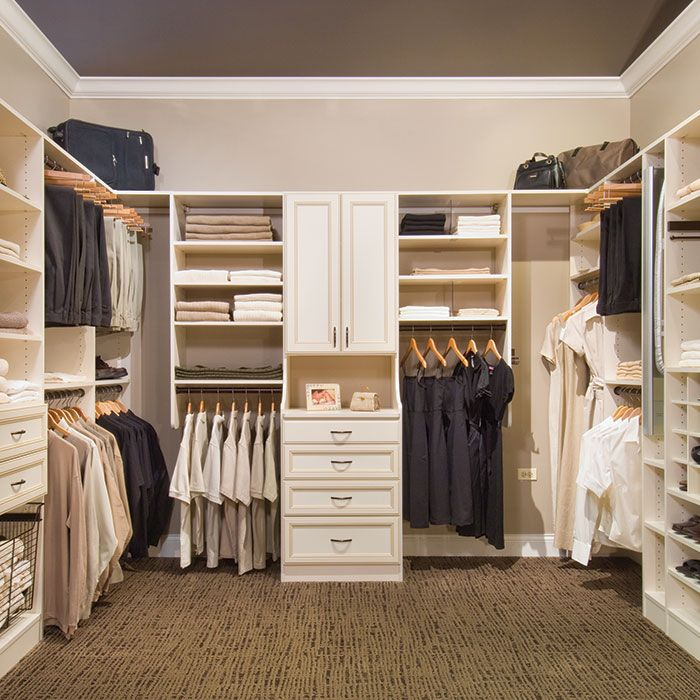 Custom Closet Ideas Designs: Rectangular Walk In Closet - Google Search