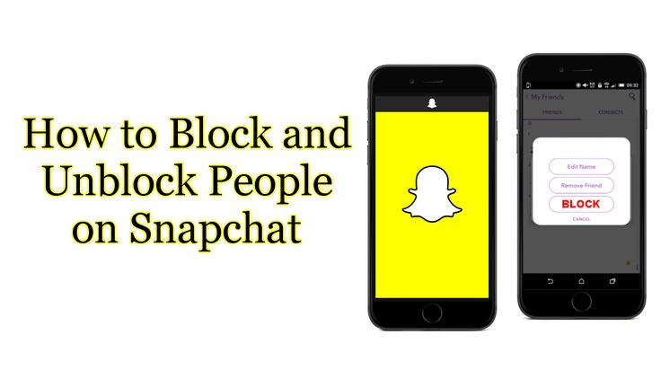 How to Block and Unblock People on Snapchat. #Snapchat #snap #block #unblock #android #ios +Downloadsource.net