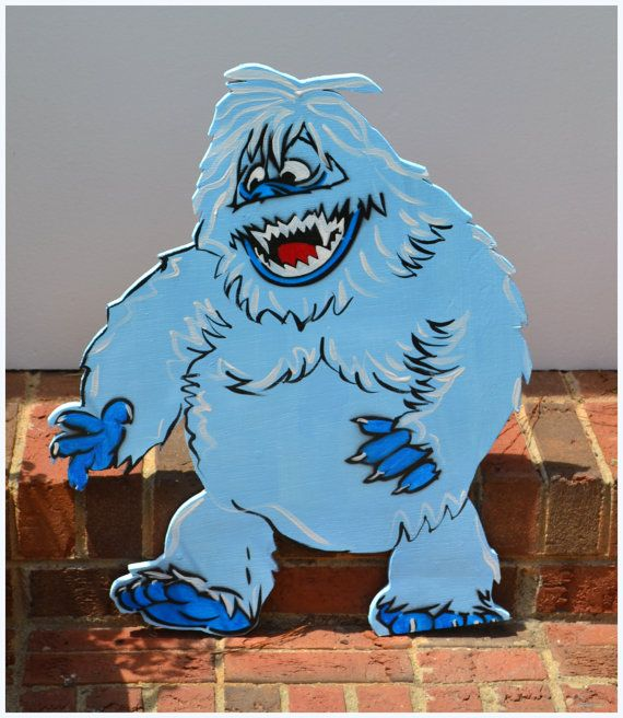 Best 25 the abominable snowman ideas only on pinterest for Abominable snowman outdoor christmas decoration