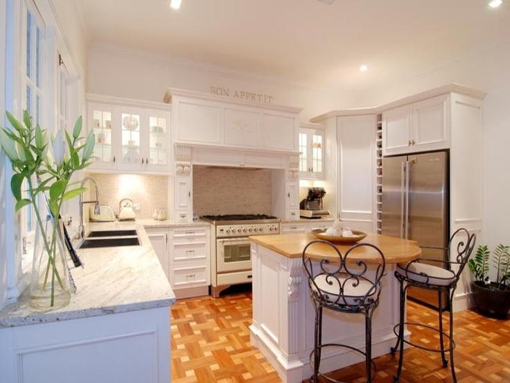 Kitchen in Queenslander home.
