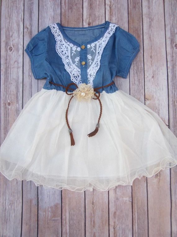 Navy Ivory Toddler Girls Tutu Dress, Vintage Dress, Rustic ...