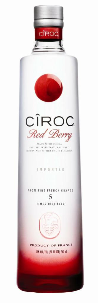Ciroc Red Berry - Flavored Vodka #cirocvodka #ciroc #vodka