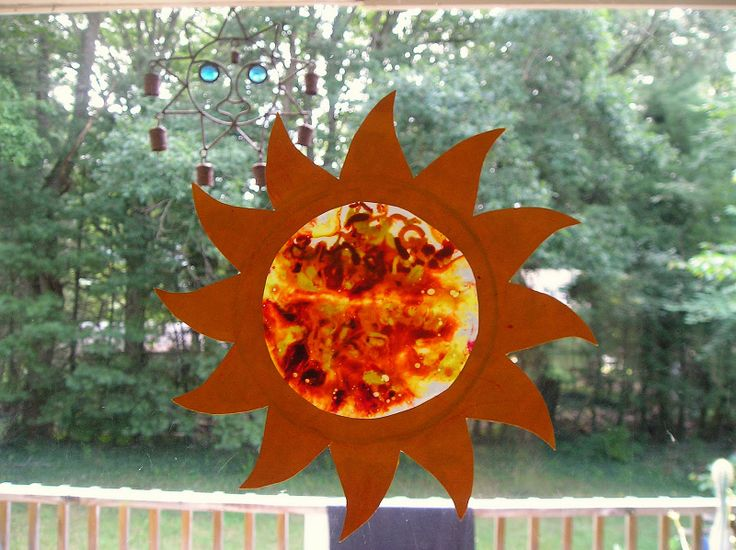 Sun Arts And Crafts For Preschoolers