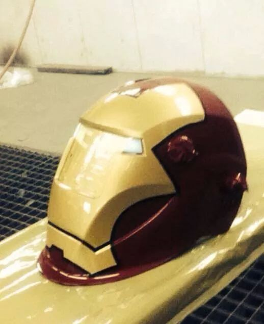 melting iron man mask - photo #33