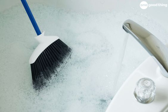 This Weird Bathtub Cleaning Trick Is Easy And Effective - One Good Thing by JilleePinterestFacebookPinterestFacebookPrintFriendly
