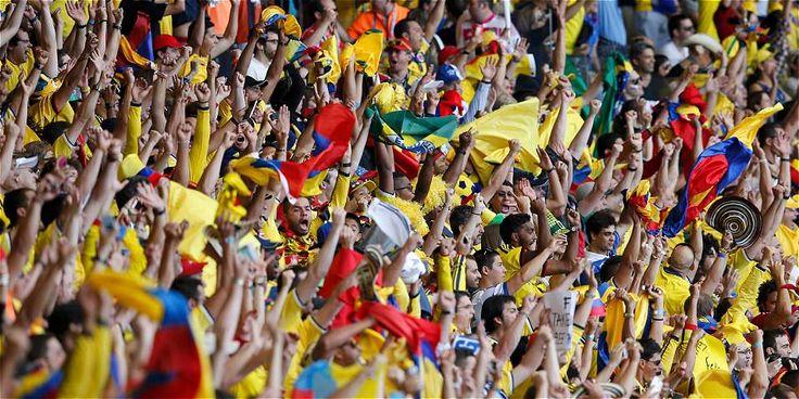 Colombianos en Brasil 2014, apoyaron a su Selección