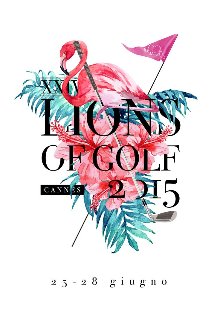 Lions of Golf 2015 - Poster on Behance