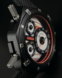 """Hamilton ODC X-03 Watch Pays Tribute To 'Interstellar' & '2001: A Space Odyssey' Movies - by James Stacey - Check out this spacey tribute at: aBlogtoWatch.com - """"Given their proclivity for aviation and military-inspired models, it can be easy to forget that Hamilton has a proven wild side. It's true, the same company that makes the Khaki Field, the Intra-matic 38, and the Jazzmaster, also makes the eccentric Face 2 Face. Born as an out-of-this-world tribute to Hamilton's involvement in…"""
