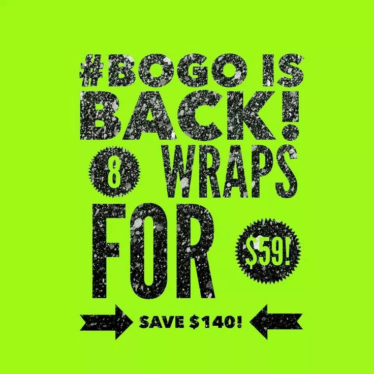 Til midnight get yours NOW !!! Tighten tone and firm in 45 minutes! Less than $8 a wrap! Jessisjoyfulwraps.com