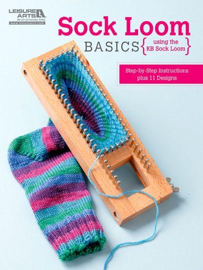 Maggie's Crochet · Sock Loom Basics