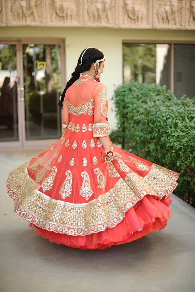 Beautiful mehendi outfit