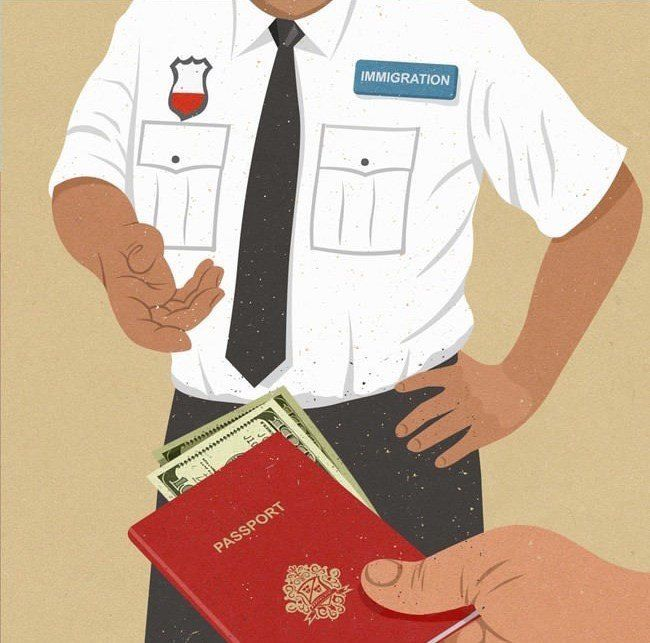 Immigration 30 Awesome Satirical Illustrations That Capture The Flaws Of Our Society • Page 5 of 5 • BoredBug
