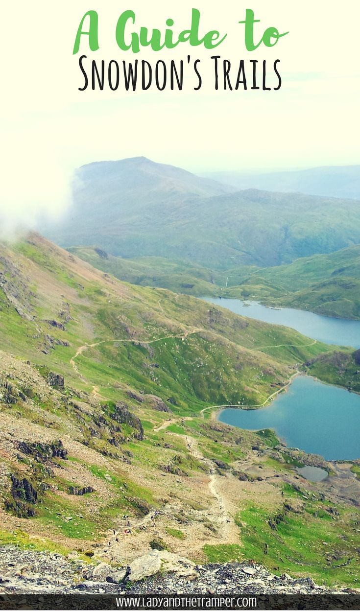 The highest mountain in Wales, Snowdon, located in Snowdonia National Park, attracts more than 360,000 visitors per year. This guide has information on all of the hiking trails leading to Snowdon's summit.