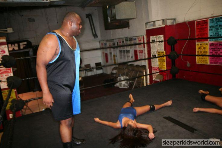Brandi Mae Mixed Wrestling