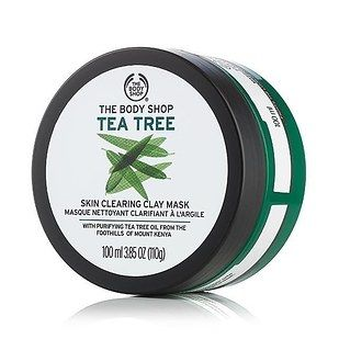 The Body Shop's Tea Tree Clearing Clay Mask, £11 | 11 Face Masks That Are Definitely Worth Trying