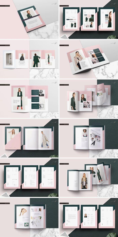 Galerie Pitch Pack Adobe Indesign Template In 2020 Portfolio Design Layouts Indesign Vorlage Indesign Vorlagen