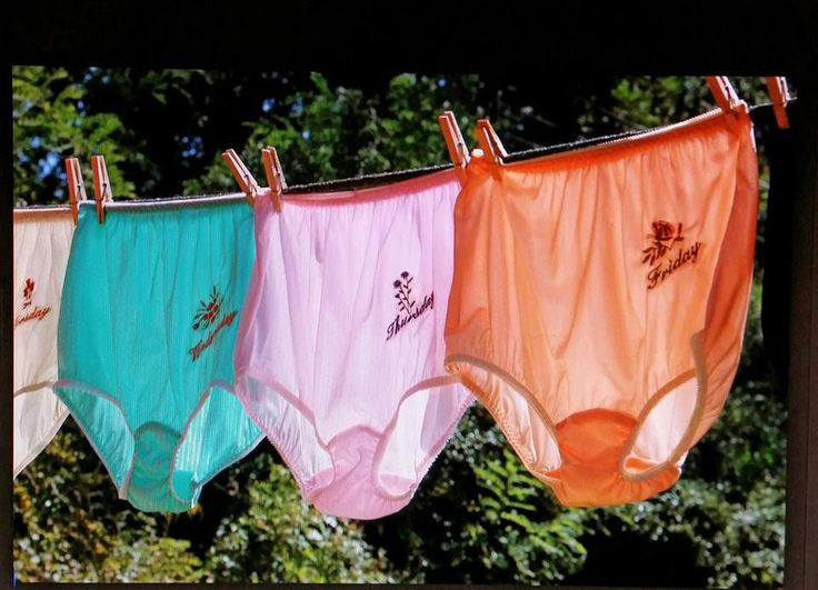 Days of the week undies! I do remember these!