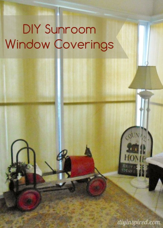 Best 25 Sunroom Window Treatments Ideas On Pinterest Curtains Blinds And