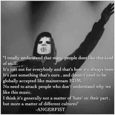 Pure pleasure by chelsiadams #angerfist #gabbermadness (o) http://ift.tt/1SBE75I #musicstyle #notforeveryone #myfavourite  #raiseyourfist #hardcore #hardstyle #lovearave #scottishraves #raiseyourfistforangerfist