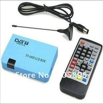Цифровой тв приставка жк-дисплей VGA / av-тюнер DVB-T FreeView приёмник поддержка DVB-T протокол ( ETS 300 744 ) 2 шт. / много