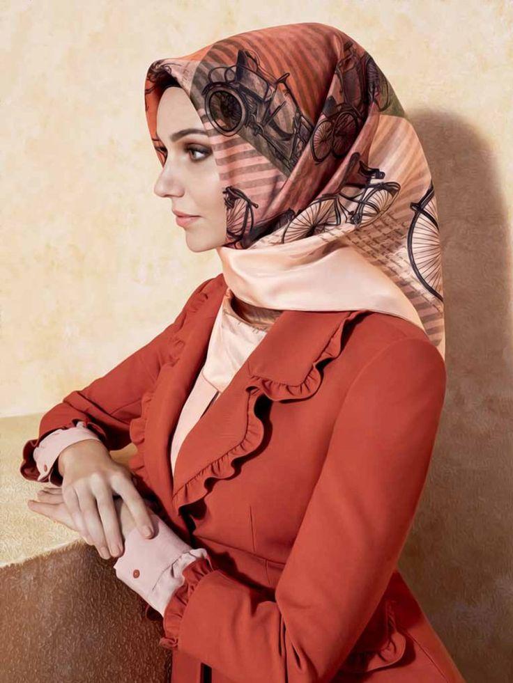 Armine : A Glamorous Muslim Hijab with Free Shipping - Beautiful Hijab Styles