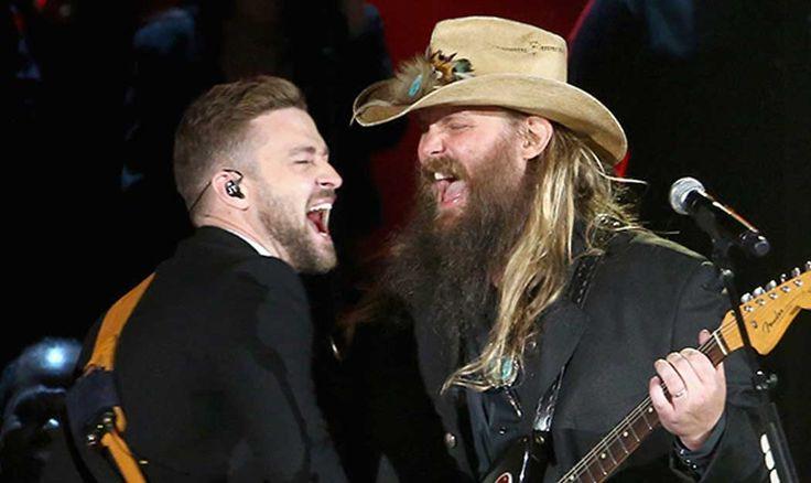Chris Stapleton and Justin Timberlake's Stunning CMA Awards Duet Will Blow Your Mind