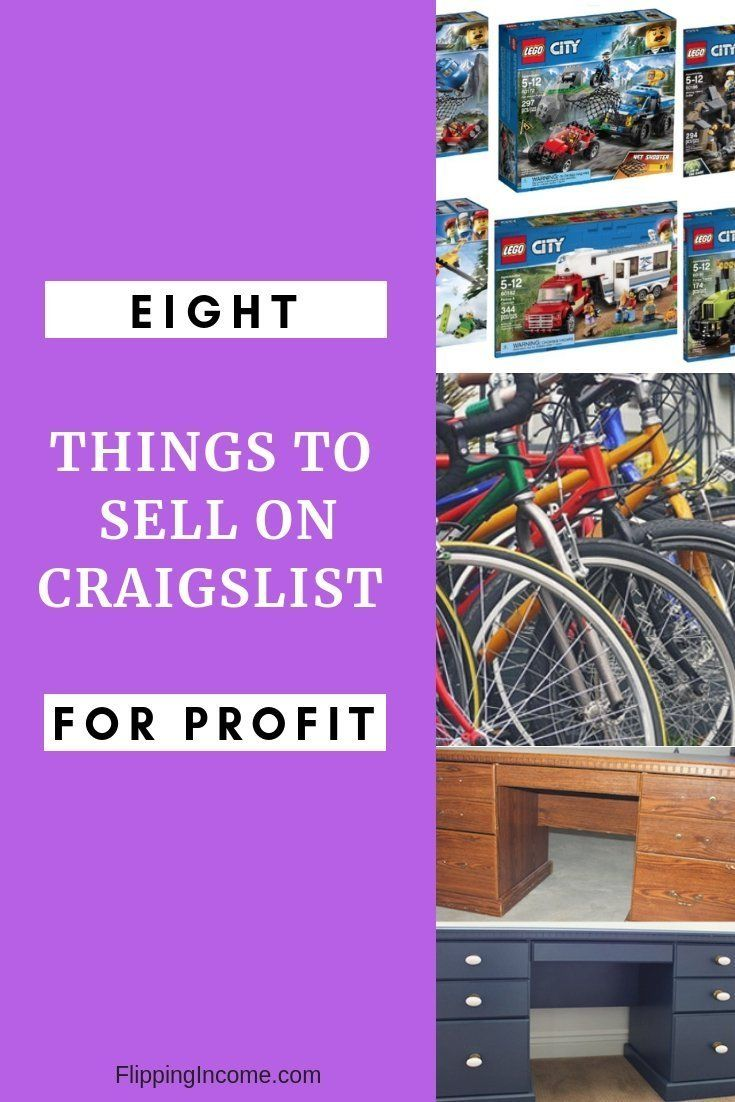 8 things to sell on craigslist for profit flipping