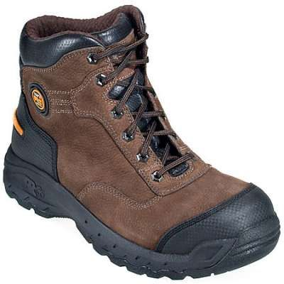 Timberland Pro 54567 6 Inch EH Safety Toe Boots Brown
