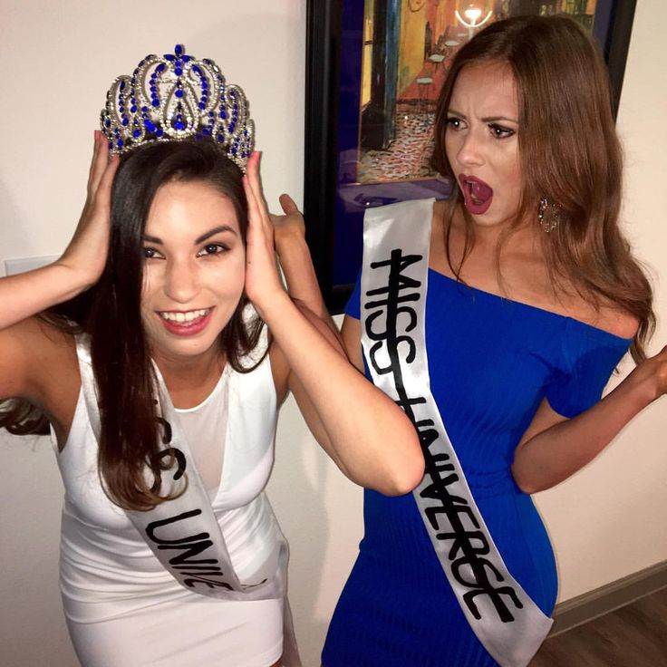 Miss Universe and Miss Columbia