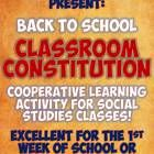 This is an excellent back-to-school group activity for any social studies class or for Constitution Day each September 17!  Working in groups, stud...