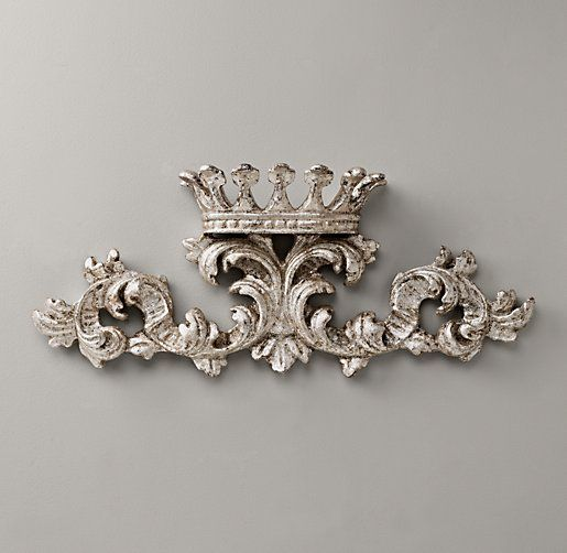 small pewter wall crown. #rhbabyandchild