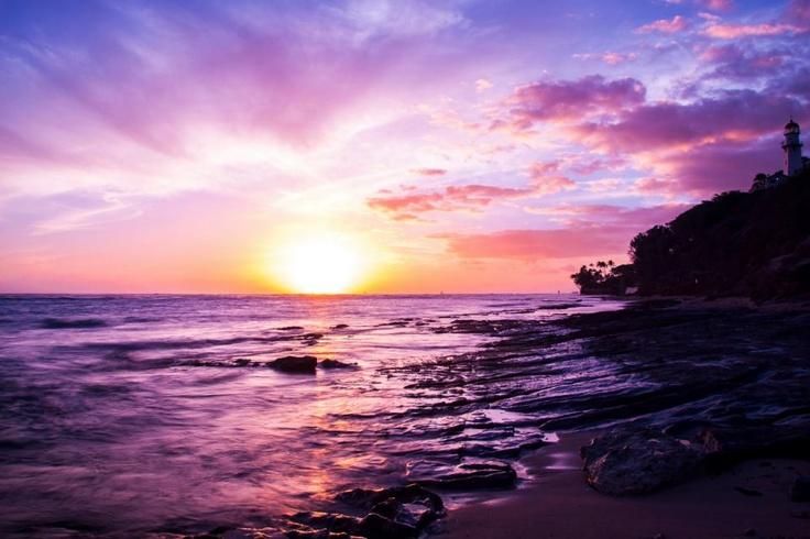 Hawaiian Pink Sunset