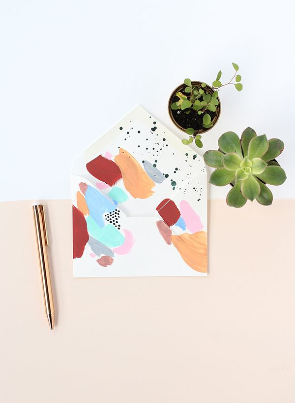 beautiful handmade stationary