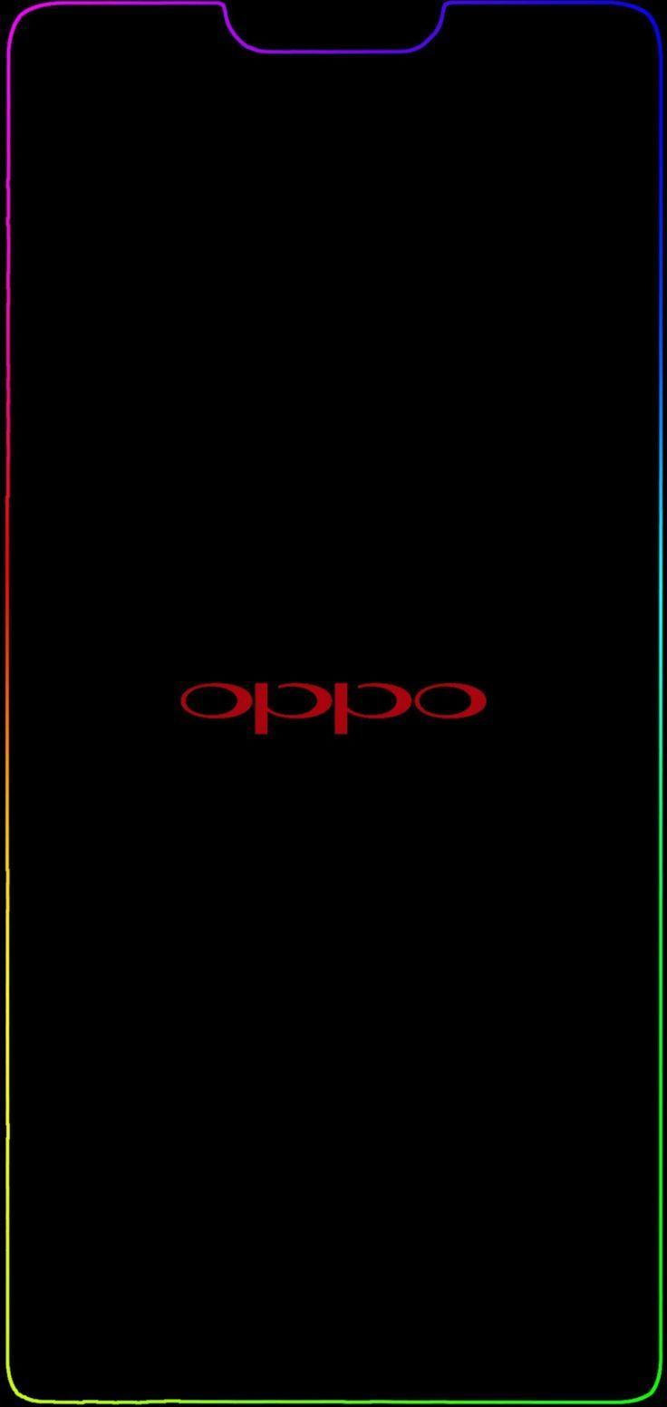 Oppo F7 Notch Border Light Red Oppo 10802280 4k Wallpaper Ponsel Gambar Seni