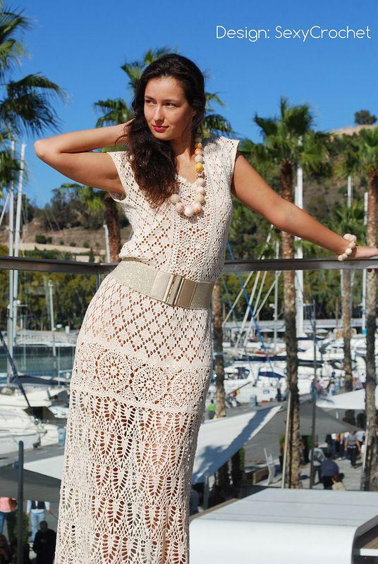 """Viste """"Enchanted"""" de Sexy Crochet. Debate Sobre LiveInternet - Servicio RUSOS Diarios Online"""