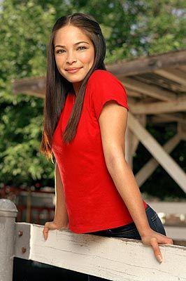 Kristin Kreuk as Lana Lang WB's Smallville