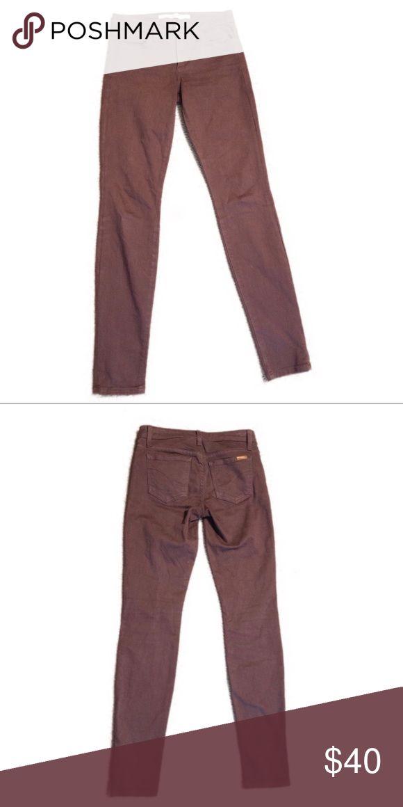 "056b5b38e02647 Joe's Jeans | Brick Red ""The Skinny"" Jeans Joe's Jeans ""The Skinny"" cut.  Brick red. Great condition. Inseam is 29.5 inches. Joe's Jean…"