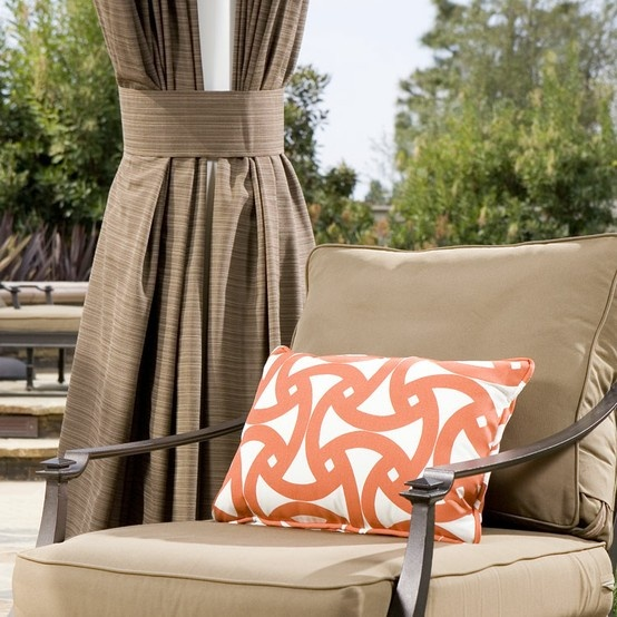 17 Best Images About Outdoor Custom Drapes And Pillows By