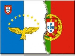 Azores and Portugal flag