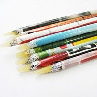100% Brand new and high quality Pencil designed for picking rhinestones and gems Use a sharpener (no