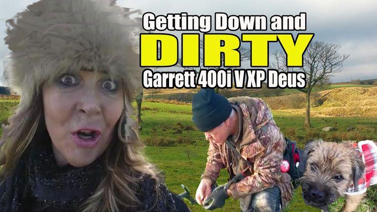 Digger Dawn & Twig the Dig - Getting DIRTY in a Garrett 400i V XP Deus c...