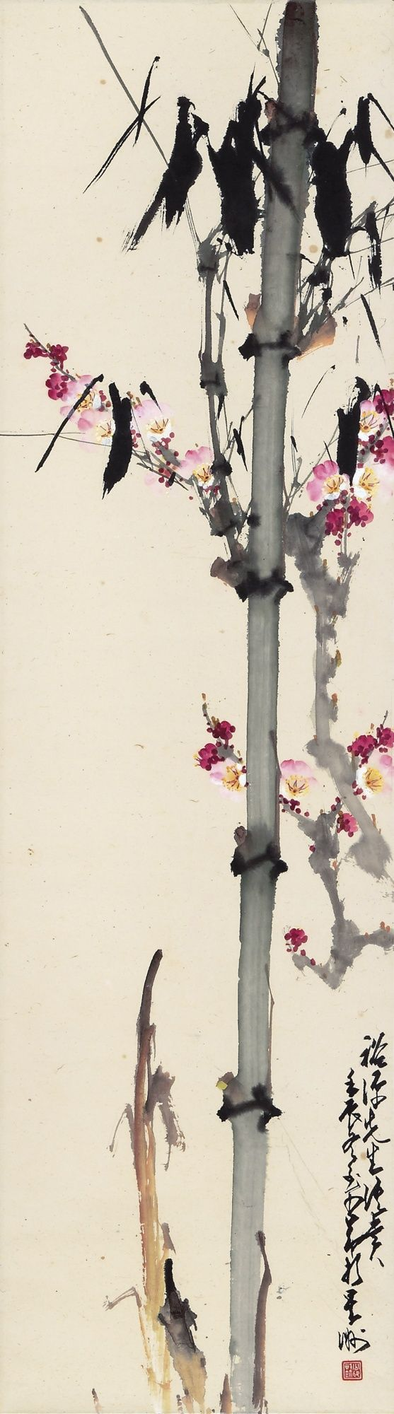 zhao shao'ang bamboo and p | flowers & plants | sotheby's hk0398lot6gnhpen