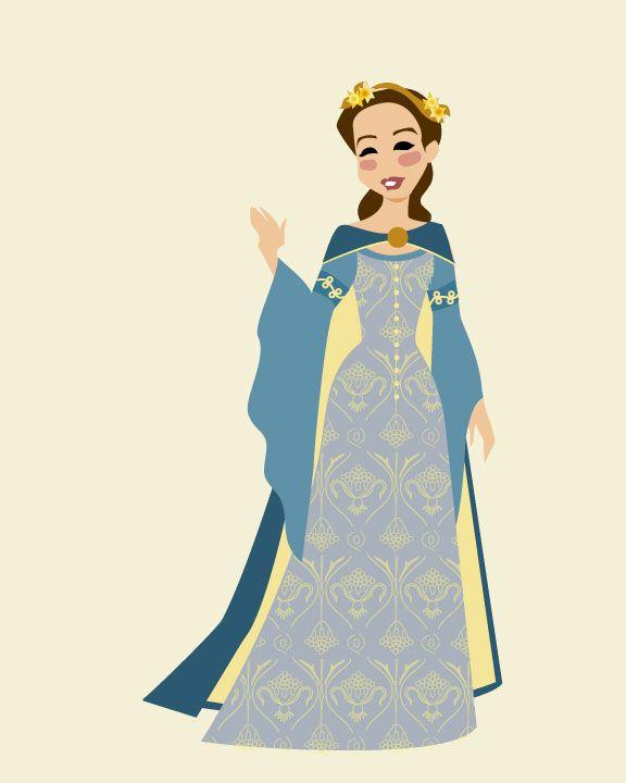 сечение хроники нарнии рисунки короли и королевы аксессуаром, завоевавшим